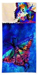 Let Go Fly Away Into The Light By Lisa Kaiser Beach Towel