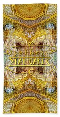 Let Her Eat Cake Queen Grand Apartment Versailles Beach Towel