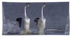 Let Humans Learn From The Nature  Foreplay Dance It Pleases Everyone Beach Towel