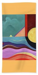 Let It Shine Beach Towel by Helena Tiainen
