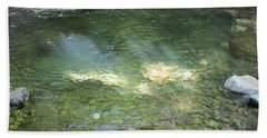 Beach Towel featuring the photograph Let The Sunshine by Marie Neder