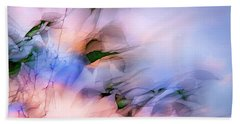 Let The Winds Of The Heavens Dance Beach Sheet by Theresa Tahara
