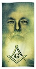 Let There Be Light Beach Towel