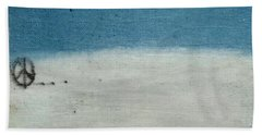 Let There Be Peace Beach Towel