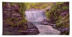 Letchworth State Park Beach Towel