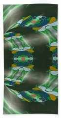 Let's Get Around It Abstract  Beach Towel