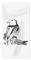 Let's Prey Eagle Beach Towel