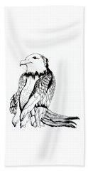 Let's Prey Eagle Beach Towel