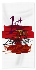 Levite By Blood Beach Towel