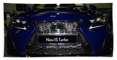 Lexus Is Turbo Beach Towel