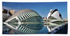 Valencia, Spain - City Of Arts And Sciences Beach Towel
