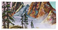 Liberty Bell Mountain Beach Towel