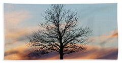Liberty Tree Sunset Beach Towel