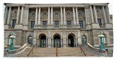 Library Of Congress Beach Towel