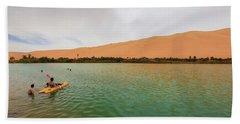 Libyan Oasis Beach Towel