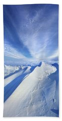 Beach Towel featuring the photograph Life Below Zero by Phil Koch