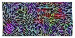 Life Currents Beach Towel