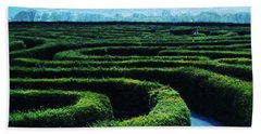 Life In The Maze Beach Towel