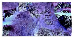 Life In The Ultra Violet Bush Of Ghosts  Beach Towel