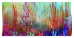 Beach Sheet featuring the digital art Life Is A Beautiful Mystery by Linda Sannuti