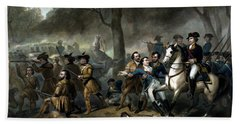 Life Of George Washington - The Soldier Beach Towel by War Is Hell Store
