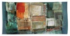 Patterns Beach Towel by Behzad Sohrabi
