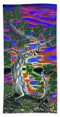 Life Of Trees Beach Towel