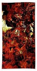 Life On Mars Beach Towel by The Art Of JudiLynn