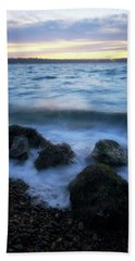 Life On The Rocks Beach Towel