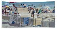 Lifeguard On Duty Beach Sheet