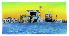 Lifeguard Tower 1 Beach Sheet