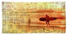 Life's Crossing Beach Sheet