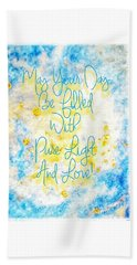 Light And Love Beach Towel