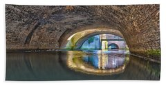 Light At The End Of The Tunnel Beach Towel by Frans Blok