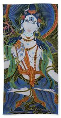 Light Giving Shiva  Beach Sheet