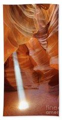 Light In Antelope Canyon Beach Sheet