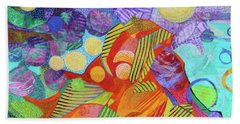 Light In The Heights Beach Towel by Polly Castor