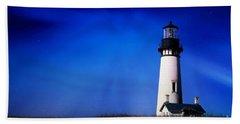 Light My Way Beach Sheet by Sheila Ping