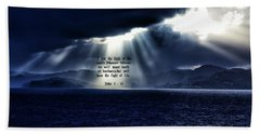 Beach Towel featuring the photograph Light Of The World by Dennis Baswell