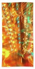 Light Painting 1 Beach Sheet