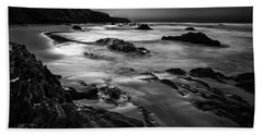 Light Passages Bw Beach Towel