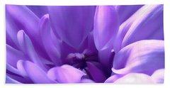 Light Purple Beauty Beach Towel