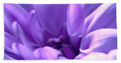 Light Purple Beauty Beach Sheet
