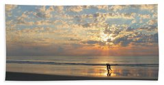 Light Run Beach Towel