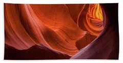 Light Tunnel - Antelope Lower Beach Towel