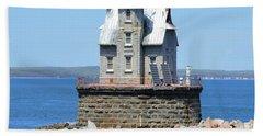 Lighthouse 2-c Beach Towel