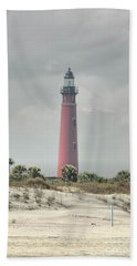 Lighthouse At Ponce Inlet Beach Sheet