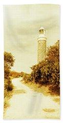 Lighthouse Lane Beach Towel