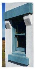 Lighthouse Window Beach Sheet