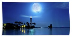Lighting The Lighthouse Beach Sheet
